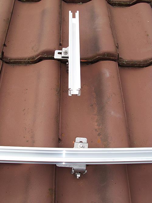 Dachhaken für Solarmodule